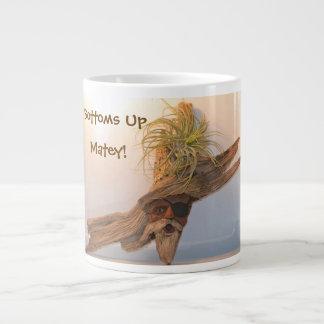 Bottoms Up Matey Large Coffee Mug