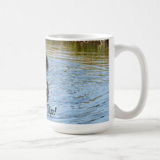 Bottoms Up Mug
