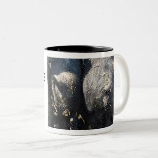 'Bottoms Up!' Tea Coffee Mug