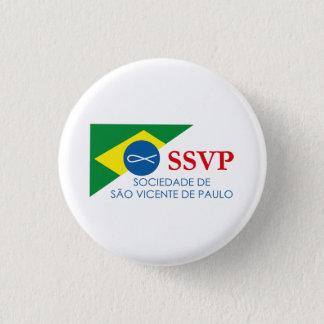 Botton Soon SSVP of Brazil 3 Cm Round Badge