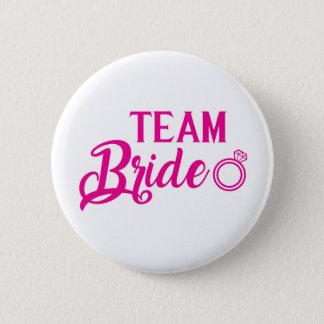 Botton Team Bride 6 Cm Round Badge