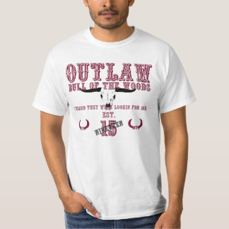 BOTW OUTLAW BASIC WHITE TEE