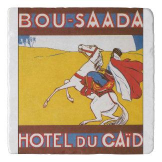 Bou Saada Vintage Travel Poster Trivet