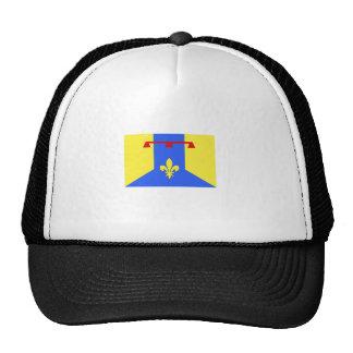 Bouches-Du-Rhone, France flag Hat