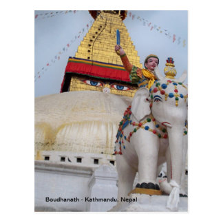 Boudhanath, Kathmandu, Nepal Postcard