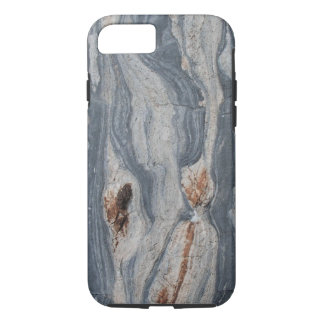 Boudinaged Limestone Rock Texture Print iPhone 8/7 Case