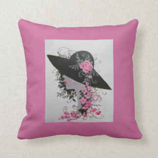 Boudoir vintage throw pillow