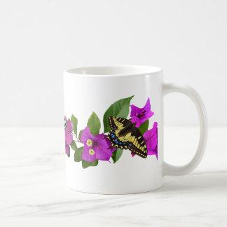 Bougainvillea Butterfly Mug