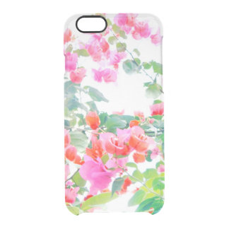 bougainvillea clear iPhone 6/6S case