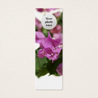 Bougainvillea Custom Bookmark Mini Business Card