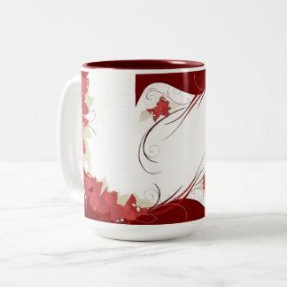 Bougainvillea Two-Tone Coffee Mug