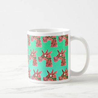 Bougainvillea Unicorn Coffee Mug