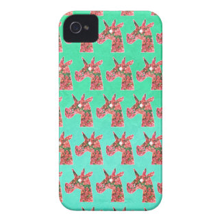 Bougainvillea Unicorn iPhone 4 Cases