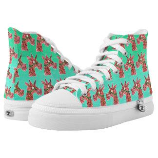 Bougainvillea Unicorn Printed Shoes