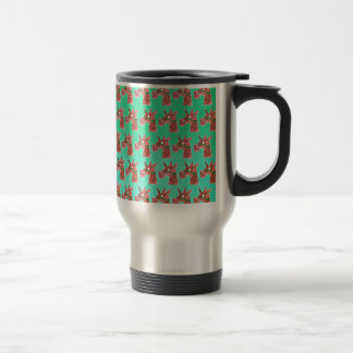 Bougainvillea Unicorn Travel Mug