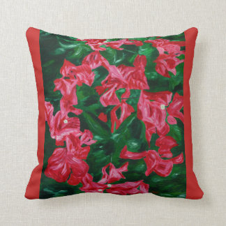 Bougainvilleas - an ode to nature, Pillow