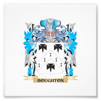 Boughton Coat of Arms Art Photo