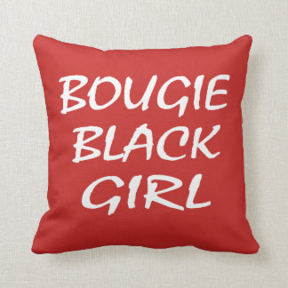 Bougie Black Girl Cushion
