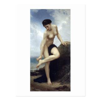 Bouguereau - Apres le Bain Postcard