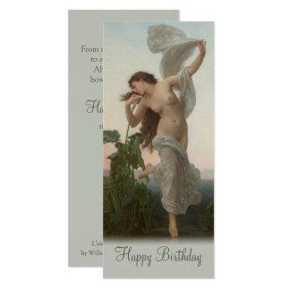 Bouguereau Dawn L'Aurore CC0875 Birthday Card