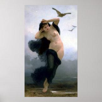 Bouguereau - La Nuit Poster
