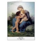 Bouguereau - L'Amour Fraternel Card