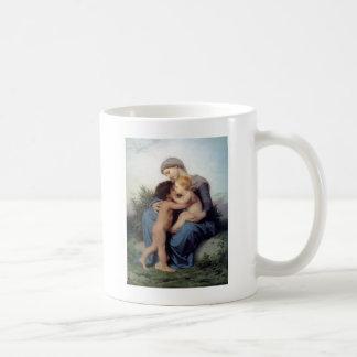 Bouguereau - L'Amour Fraternel Classic White Coffee Mug