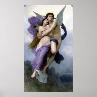 Bouguereau - Le Ravissement de Psyche Poster