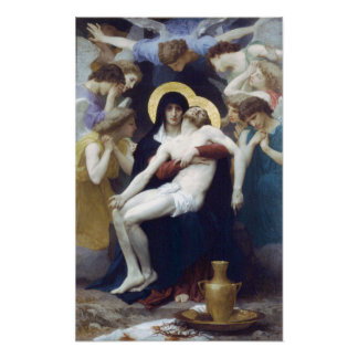 Bouguereau - Pietà Poster