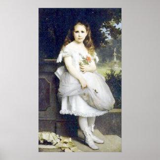 Bouguereau - Portrait d Anna Head Posters