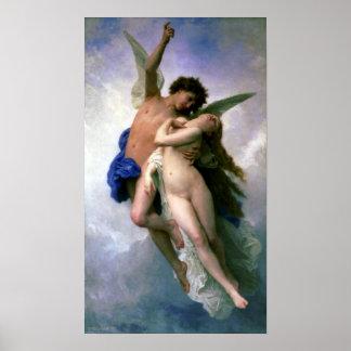 Bouguereau - Psyche et L'Amour Poster