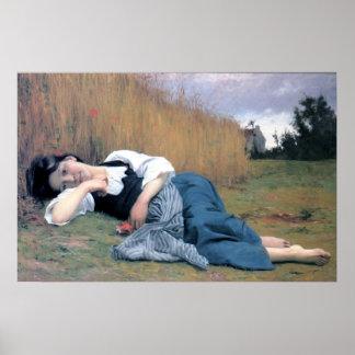 Bouguereau - Repos à la Moisson Poster