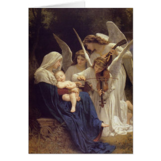 Bouguereau song card
