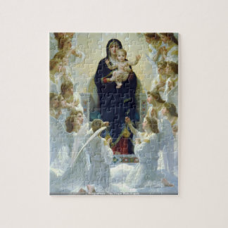 Bouguereau - The Virgin With Angels Jigsaw Puzzle