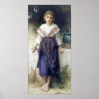Bouguereau - Un Moment de Repos Poster