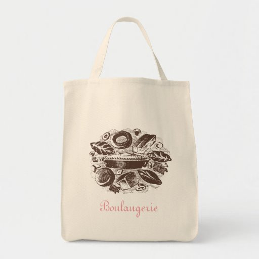 Boulangerie Organic Tote Grocery Tote Bag