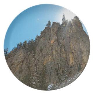 Boulder Canyon Narrows Pinnacle Plate