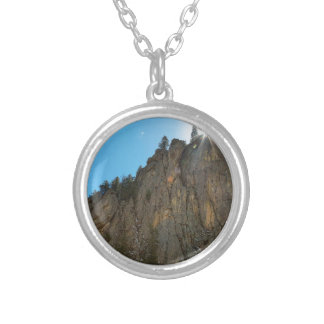 Boulder Canyon Narrows Pinnacle Silver Plated Necklace