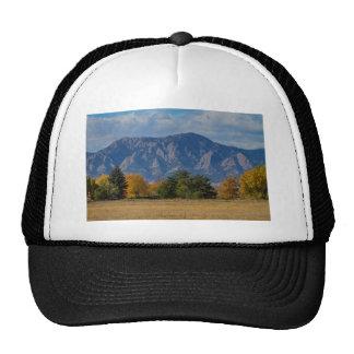 Boulder Colorado Autumn Flatiron Afternoon Cap