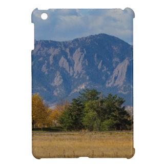 Boulder Colorado Autumn Flatiron Afternoon iPad Mini Case
