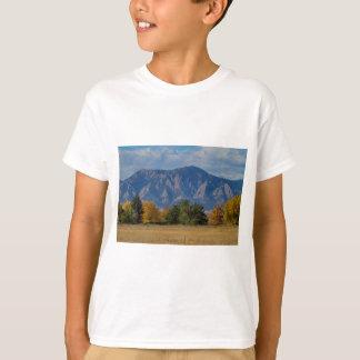 Boulder Colorado Autumn Flatiron Afternoon T-Shirt