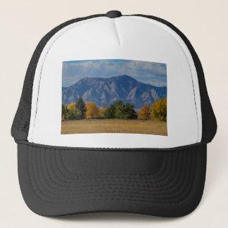 Boulder Colorado Autumn Flatiron Afternoon Trucker Hat