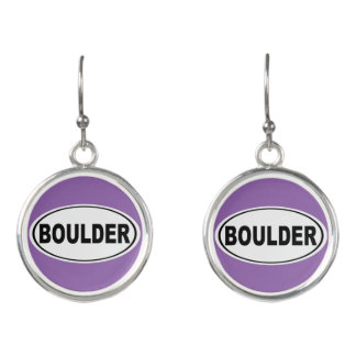 Boulder Colorado Earrings