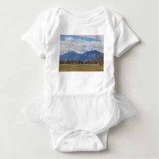 Boulder Colorado Prairie Dog View Baby Bodysuit