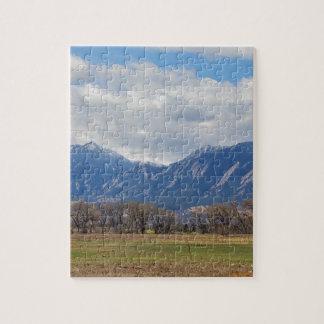 Boulder Colorado Prairie Dog View Jigsaw Puzzle