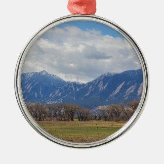 Boulder Colorado Prairie Dog View Metal Ornament