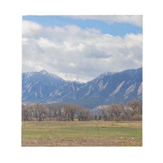 Boulder Colorado Prairie Dog View Notepad