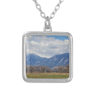Boulder Colorado Prairie Dog View Silver Plated Necklace