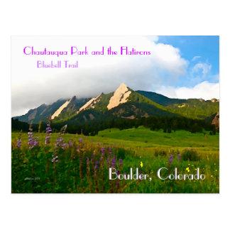 Boulder, Colorado Vintage Style Postcard