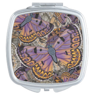 Boulder Copper Butterfly Compact Mirrors